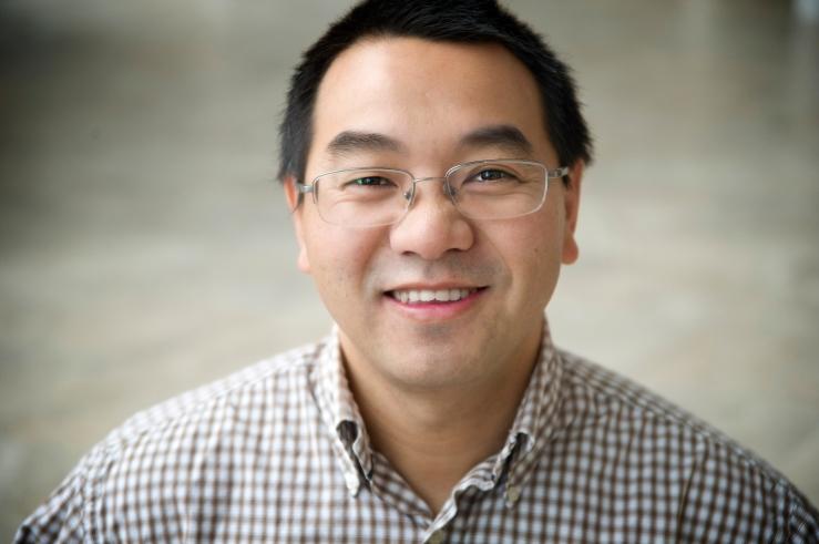 Dr. Jianghua Wu; Photo by Lori Lee Pike
