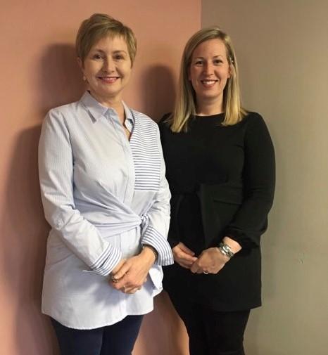 Dawn Pittman and supervisor Dr. Karen Parson, Memorial University, Newfoundland and Labrador